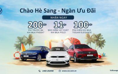 Volkswagen Việt Nam ra mắt dòng nhớt  và bổ sung ưu đãi mùa hè 2021